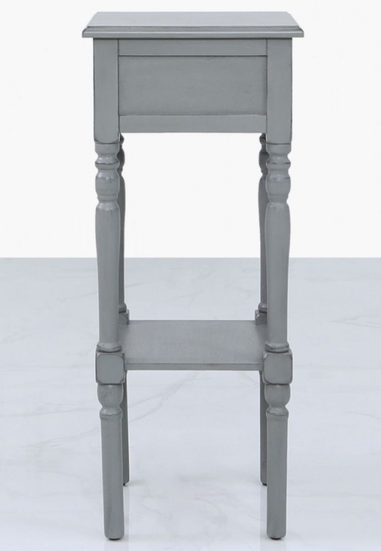 Driffield Grey Telephone Table