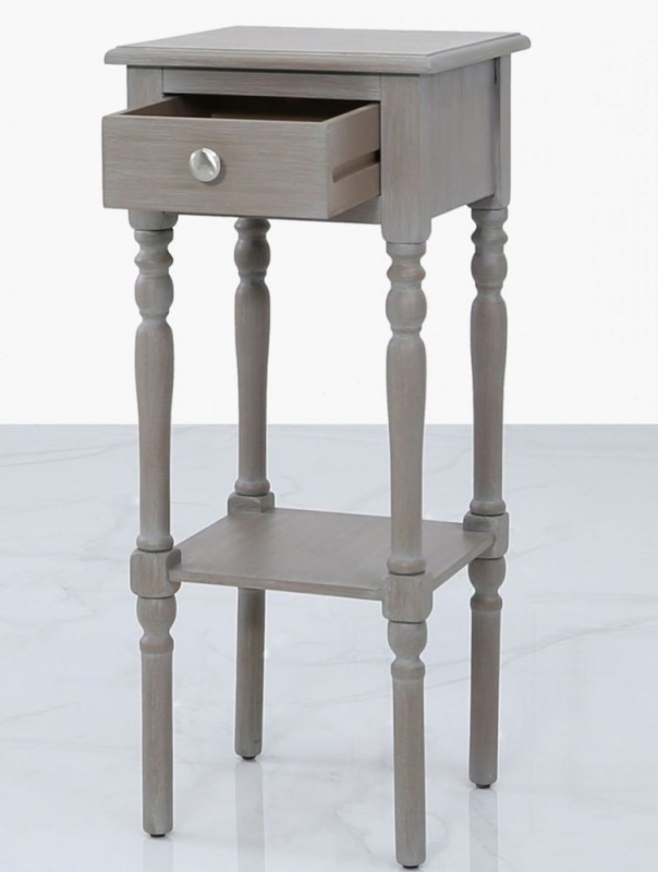 Driffield Taupe Telephone Table