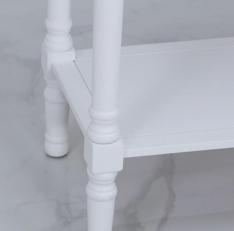 Driffield White Console Table
