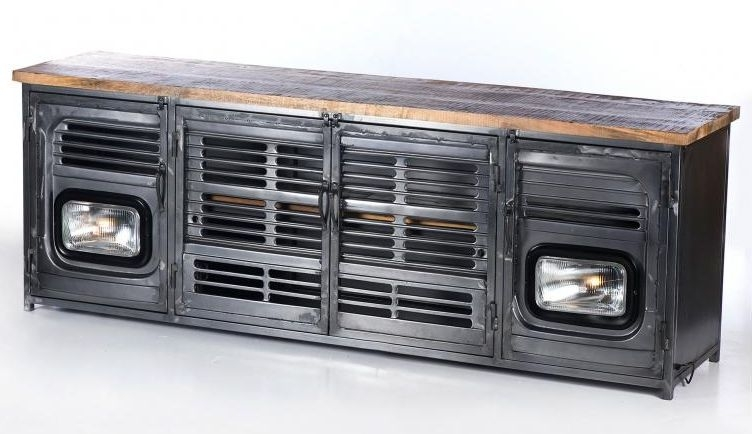 Upcycled Truck Front Large TV Unit