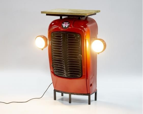 Tractor Book Shelf with Lights