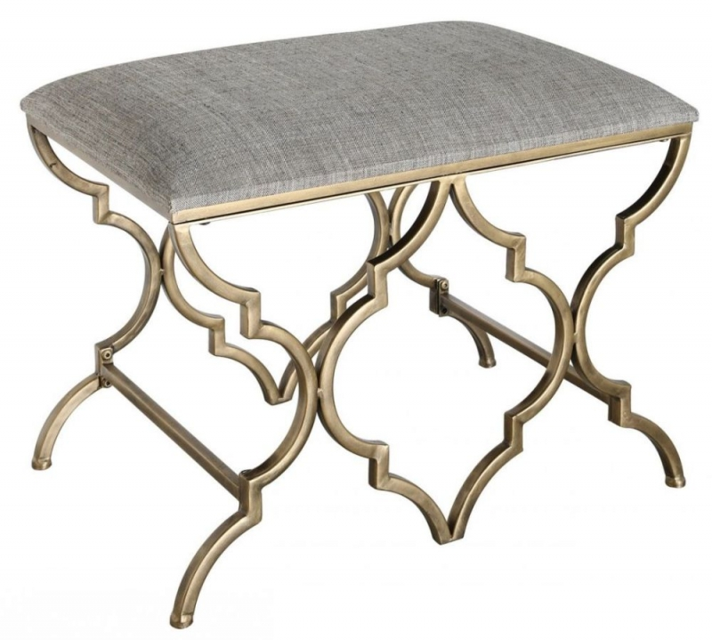 Morocco Gold Stool