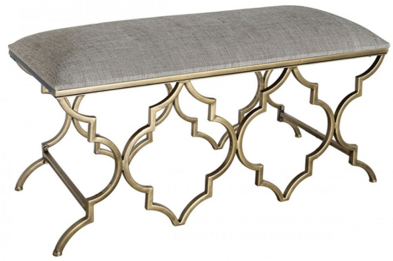 Morocco Gold Bench
