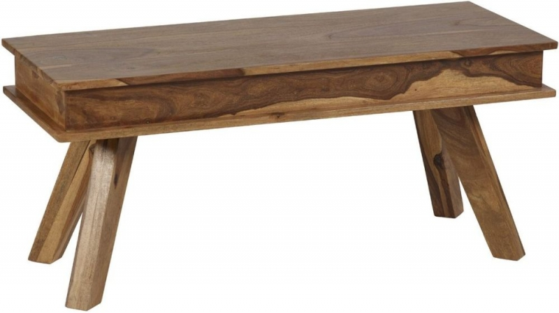 Indian Hub Jodhpur Sheesham Small Dining Bench