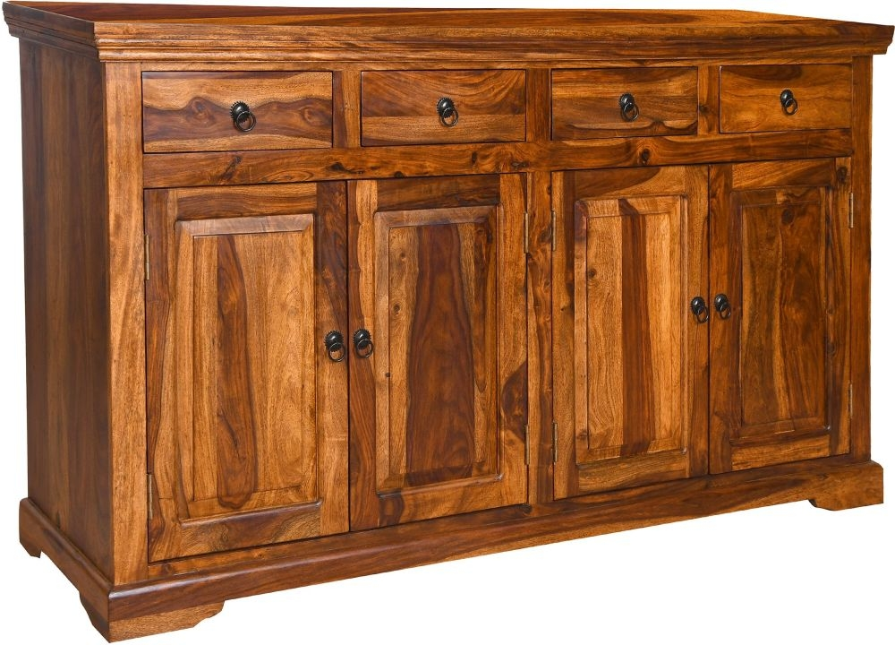 Urban Deco Ganga Sheesham Large Sideboard