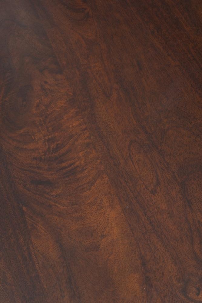 Dakota Indian Mango Wood 110cm Corner TV Unit - Dark
