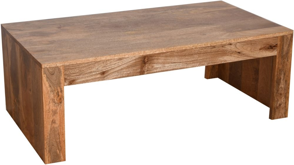 Urban Deco Dakota Light Mango Wood Coffee Table