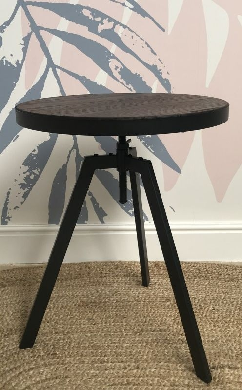 Ancient Mariner Fitzroy Adjustable Bistro Round Dining Table