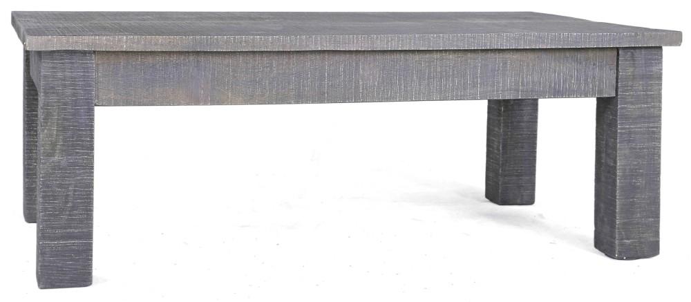 Urban Deco Shabby Chic Dark Distressed Small Coffee Table