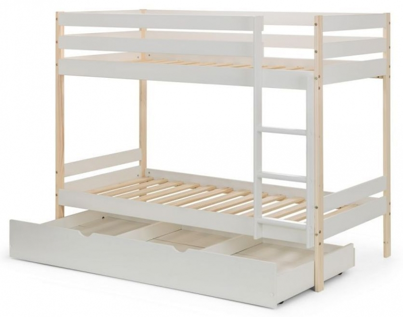 Julian Bowen Nova White Bunk Bed
