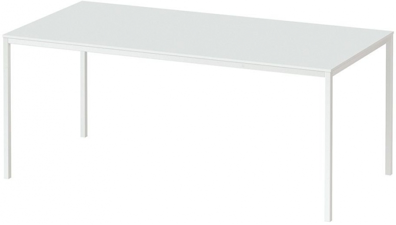 Family White 140cm Dining Table