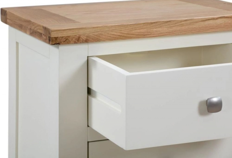 Dorset Ivory Painted Small Console Table