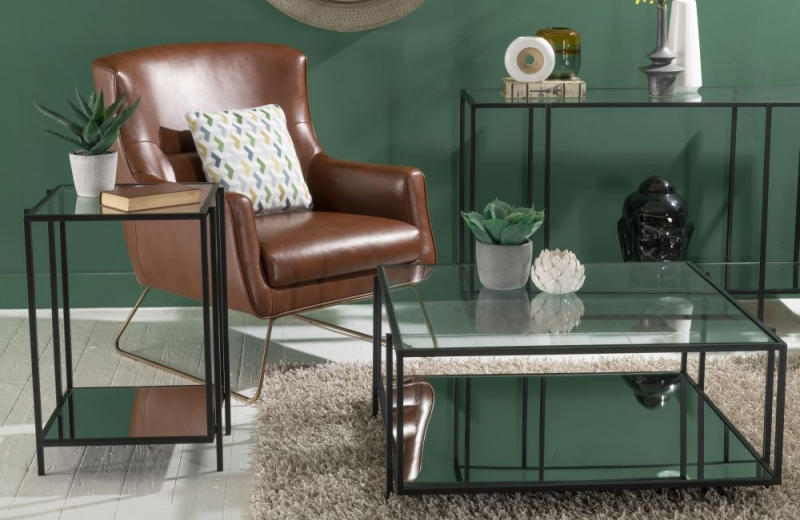 Hyde Square Black Coffee Table