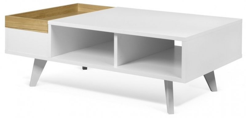 Temahome Plato White and Oak Coffee Table