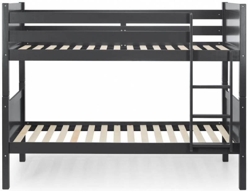 Julian Bowen Bella Anthracite Bunk Bed