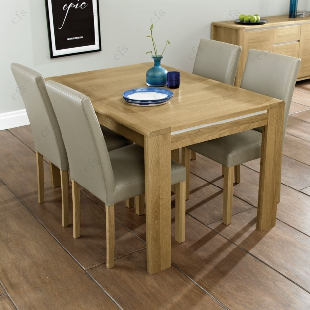 Buy Bentley Designs Casa Oak Dining Table 4 6 Seater
