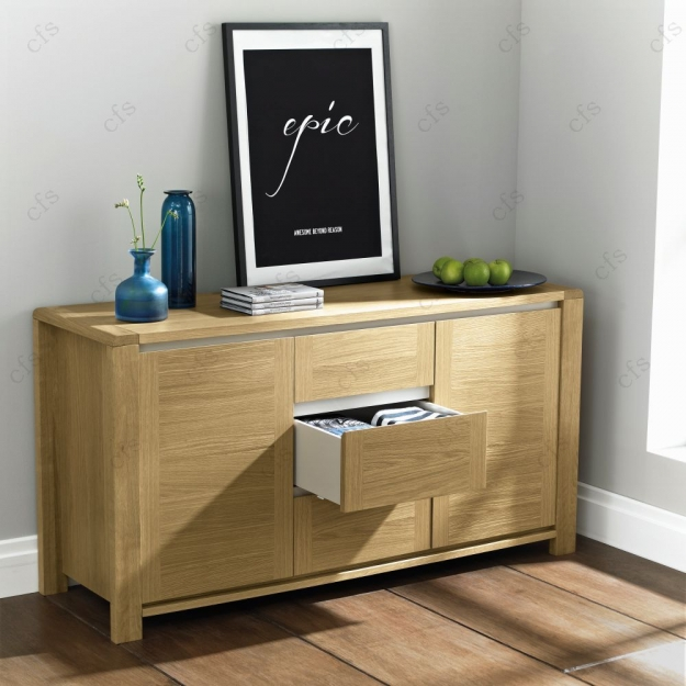 Bentley Designs Casa Oak Sideboard - Wide