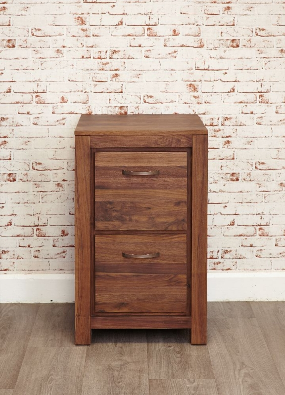 baumhaus hidden home office 2. baumhaus mayan walnut filing cabinet 2 drawer hidden home office