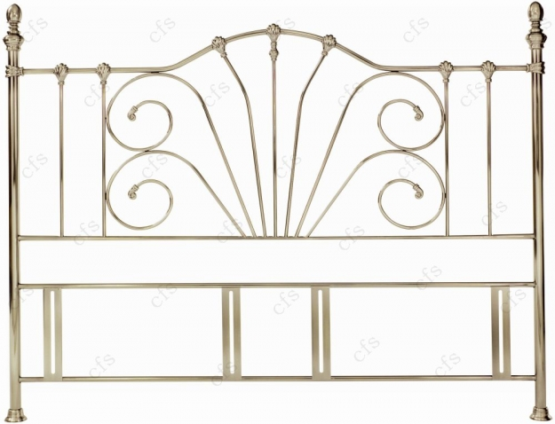 Bentley Designs Rebecca Antique Brass Headboard