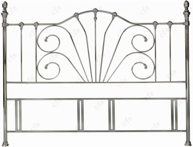 Bentley Designs Rebecca Antique Nickel Headboard
