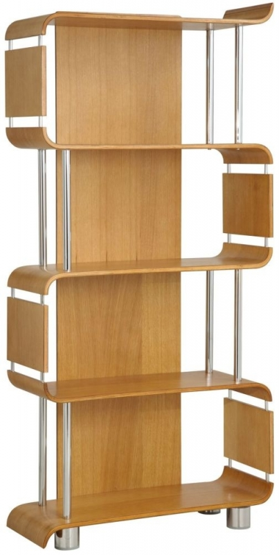 Jual Curve Oak Bookshelf BS201