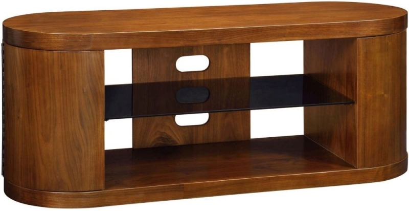 Jual Curve Walnut TV Cabinet JF207