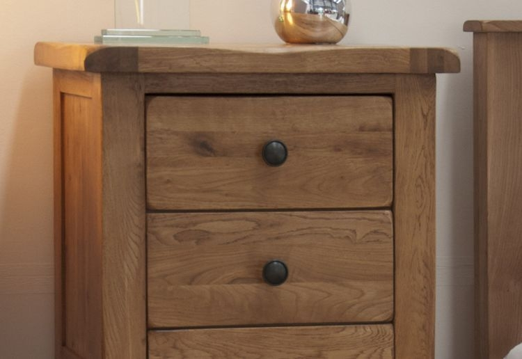 Homestyle GB Rustic Oak 5 Drawer Narrow Chest