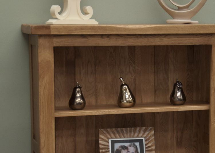 Homestyle GB Rustic Oak Small Bookcase