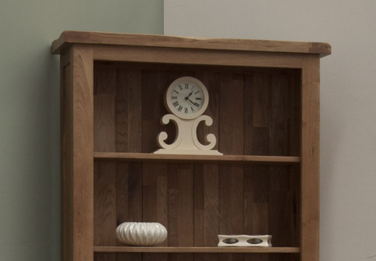Homestyle GB Rustic Oak Large Bookcase