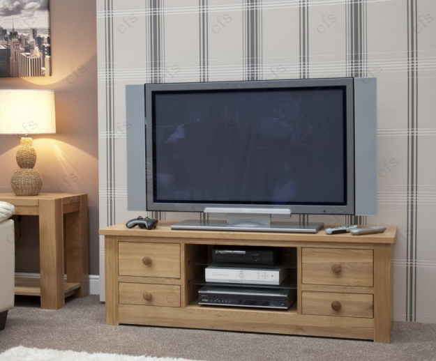 Homestyle GB Torino Oak Plasma Unit - Large