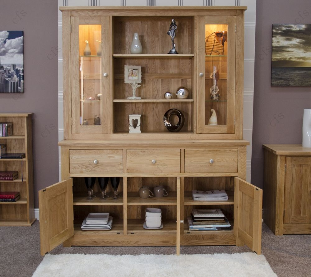 Buy Homestyle Gb Torino Oak Dresser Large Online Cfs Uk