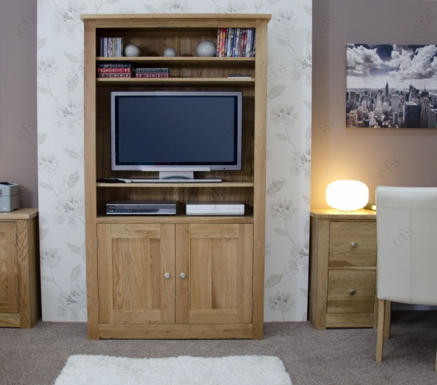 Homestyle GB Torino Oak Bookcase - 2 Door