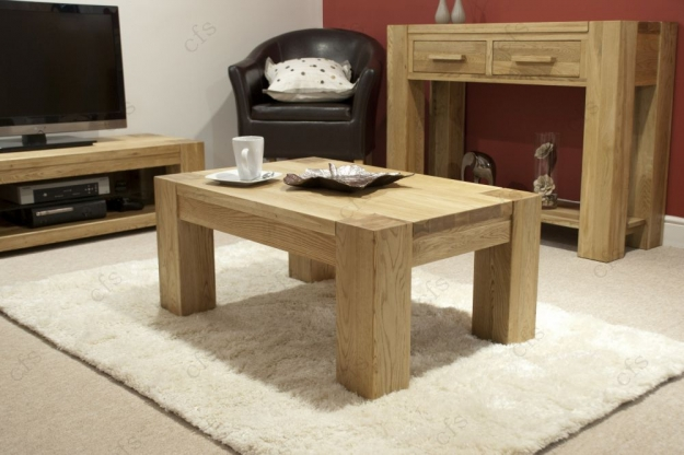 Homestyle GB Trend Oak Coffee Table - 3 x 2