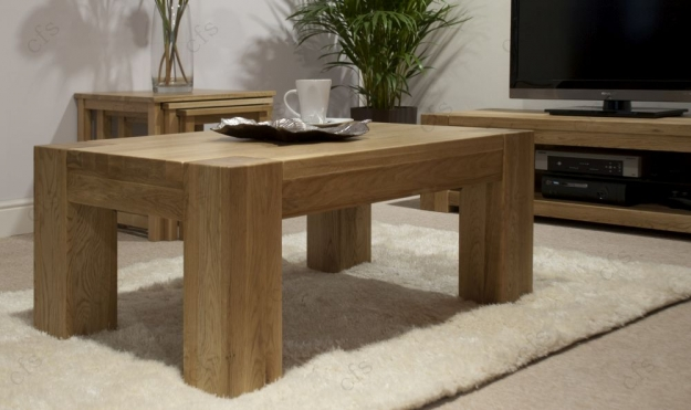 Homestyle GB Trend Oak Coffee Table - 4 x 2