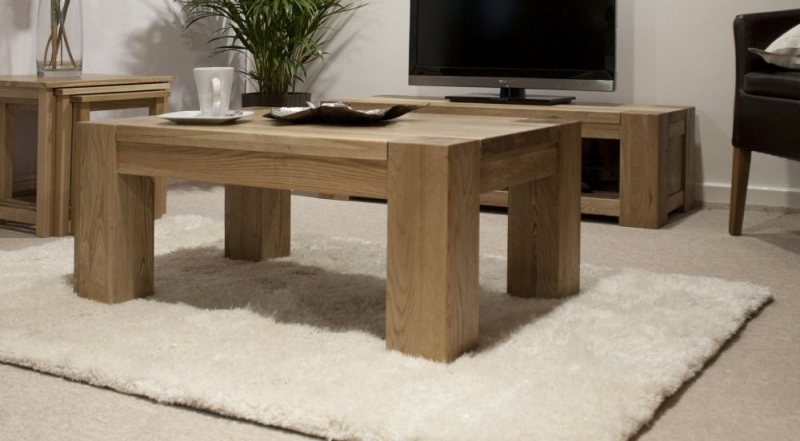 Homestyle GB Trend Oak Large Coffee Table