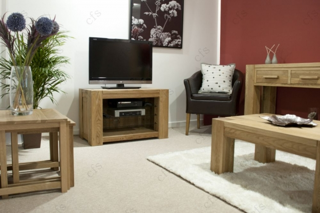 Homestyle GB Trend Oak Nest of Table