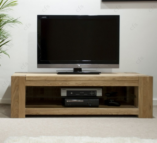 Homestyle GB Trend Oak Plasma TV Unit - Standard