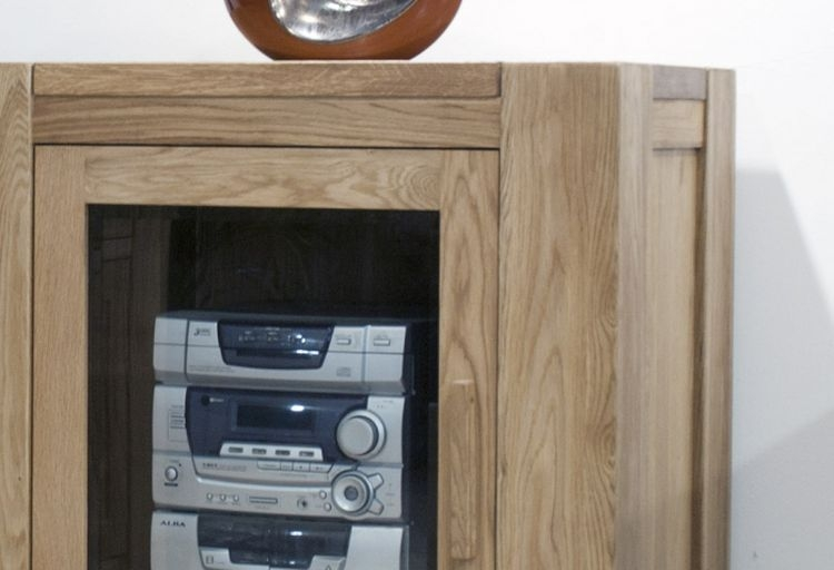 Homestyle GB Trend Oak Hifi Entertainment Cabinet