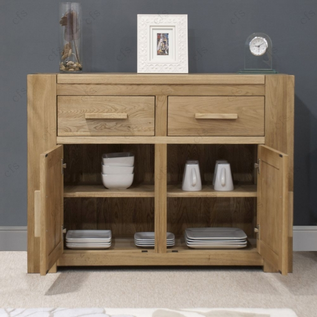 Homestyle GB Trend Oak Sideboard - Medium