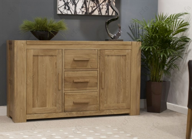 Homestyle GB Trend Oak Sideboard - Large