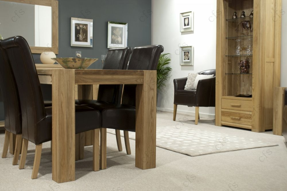 Buy Homestyle GB Trend Oak Dining Set Small With 4