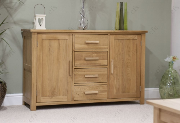 Homestyle GB Opus Oak Sideboard - Large