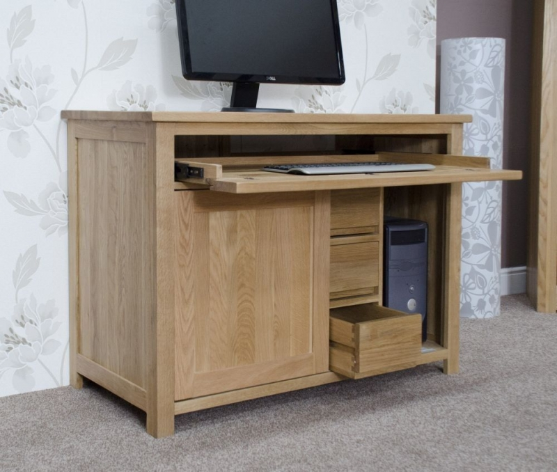 Homestyle GB Opus Oak Hideaway Desk
