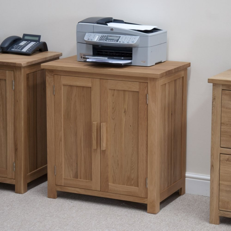 Homestyle GB Opus Oak Printer Cabinet