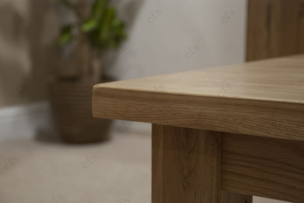 Homestyle GB Vermont Oak Coffee Table - 2 x 2