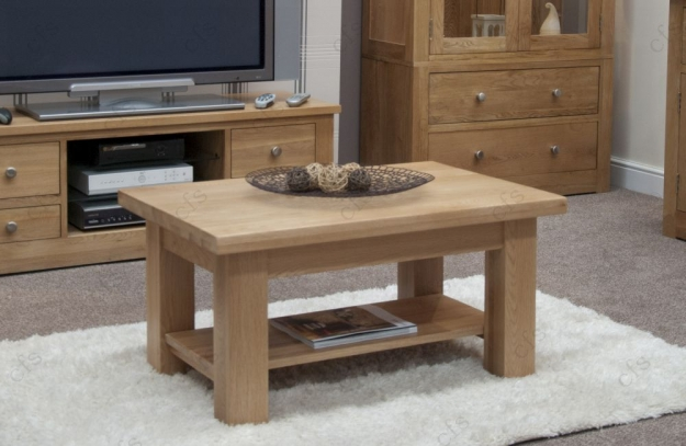 Homestyle GB Vermont Oak Coffee Table - 3 x 2