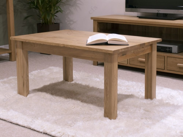 Homestyle GB Lyon Oak Coffee Table - 3 x 2