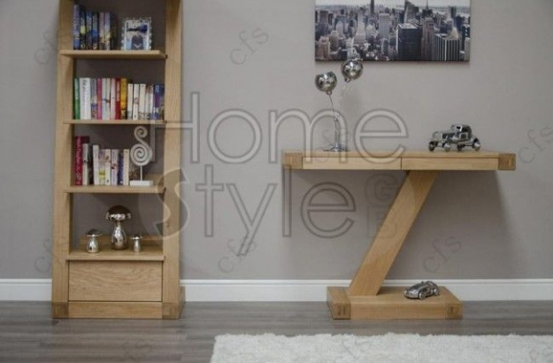 Homestyle GB Z Oak Designer Console Table