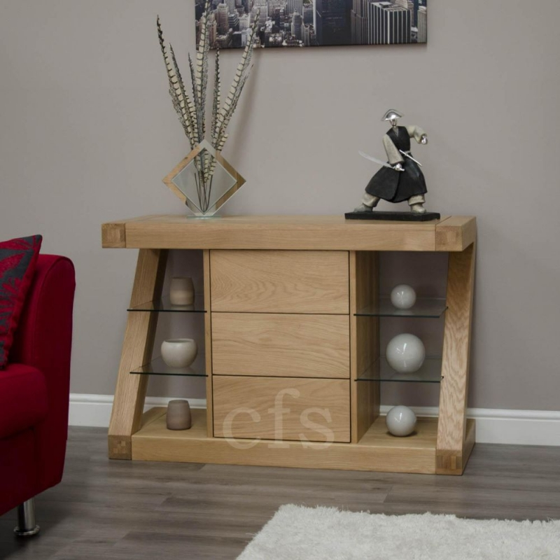 Homestyle GB Z Oak Designer Sideboard - Small