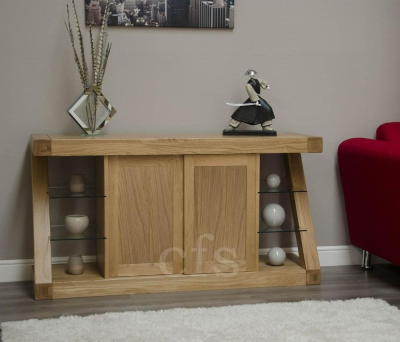Homestyle GB Z Oak Designer Sideboard - Large